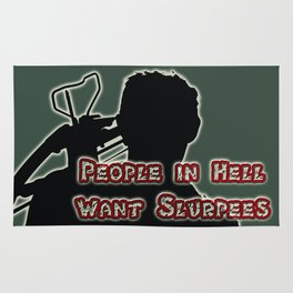 Daryl Dixon-People in Hell Want Slurpees Rug