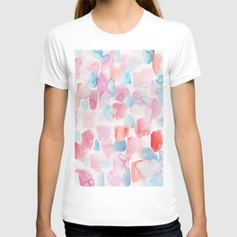 8  | 200130 | Watercolor Painting | Abstract Art | Abstract Pattern | Watercolor Art T-shirt