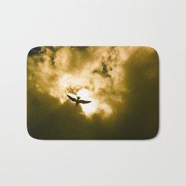 Golden Flight Bath Mat