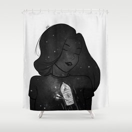 Feeling out. Shower Curtain