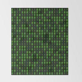 Binary Code Inside Throw Blanket