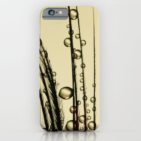 Charcoal Feather Drops III iPhone & iPod Case