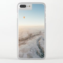 Clementine I Clear iPhone Case