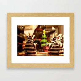 Tis The Season Gathering | Christmas Toy Framed Art Print