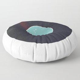 Vinyl Record Zodiac Sign Pisces Floor Pillow