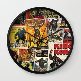 King Kong Wall Clock