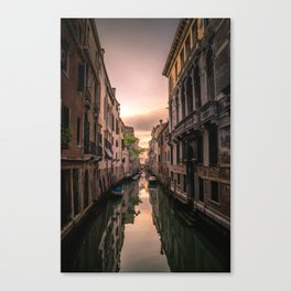 Canal of Venice Canvas Print