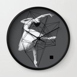 Dark ballet Wall Clock