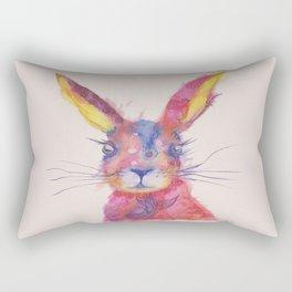 Ink Animals of Africa - Paisley Rabbit Rectangular Pillow