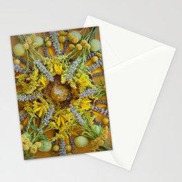 Nature Mandala: August Stationery Cards