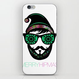 MERRY HIPMAS / SANTASTIC iPhone Skin