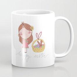 Happy Easter Illustration Coffee Mug