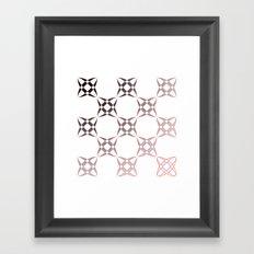 Checker C3 Framed Art Print