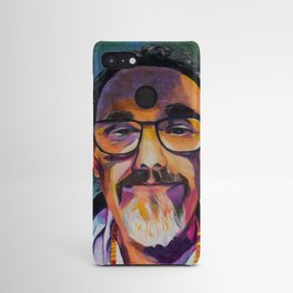 Portrait of the Artist Smirking Android Case