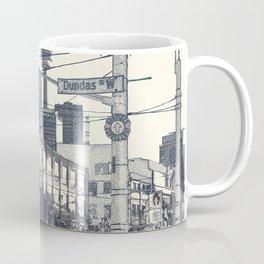 Toronto city urban scene and cityscape Coffee Mug