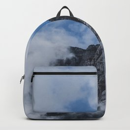 Mountain through Clouds // Landscape Photography Backpack
