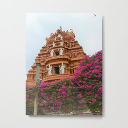 Divine towers of South India Metal Print