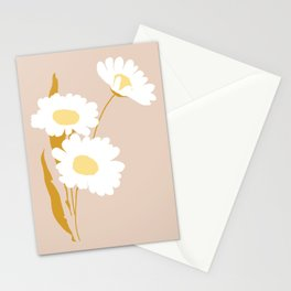 Daisies 5 Stationery Cards