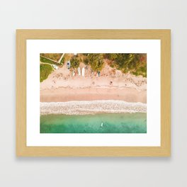 Mauritius #society6 #decor #buyart Framed Art Print