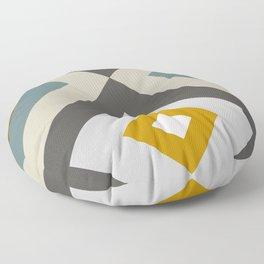 Mid West Geometric 04 Floor Pillow