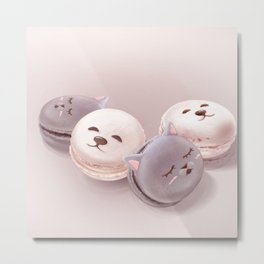 Macaron Metal Print