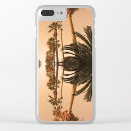 Palms1 Clear iPhone Case