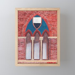Finestra a Siena Framed Mini Art Print