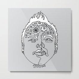 sketch 24 Metal Print