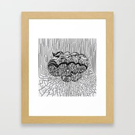 InSearch: Finding a connection Framed Art Print