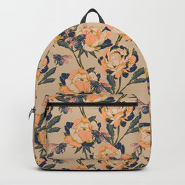 Peonies & Bees Backpack