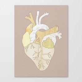 A Heart Unwritten Canvas Print