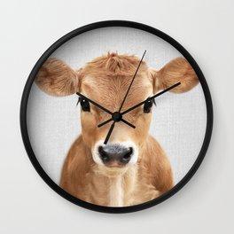 Calf - Colorful Wall Clock