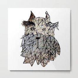 Schnauzer portrait (1) Metal Print