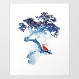 The last apple tree Art Print