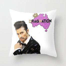 Rocco D' Amore VIC Dragnation Season 3 Throw Pillow