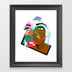 Anyone: I N  B L A C K  Framed Art Print
