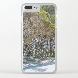 Gum trees. Clear iPhone Case