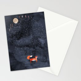 Fox Dream Stationery Cards