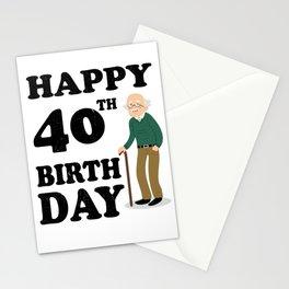 FUNNY OLD | 1978 Birthday Shirt Stationery Cards
