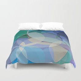 Abstract Composition 627 Duvet Cover