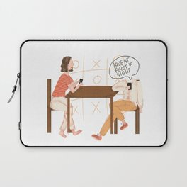 Love At First Sight At My Phone Laptop Sleeve