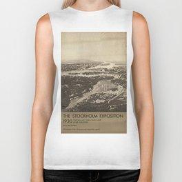 Vintage poster - Stockholm Biker Tank