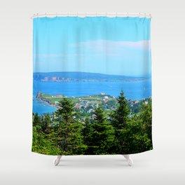 Bonaventure Island Shower Curtain