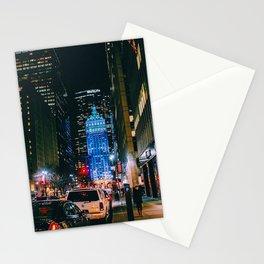 Met life, Manhattan, New York Stationery Cards