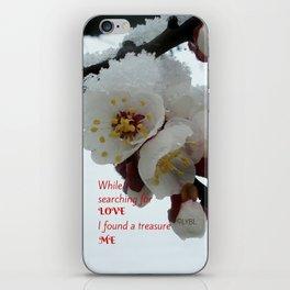 Love Yourself  Merry Christmas Edition Treasure iPhone Skin