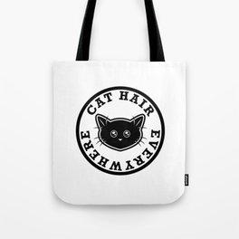 Cat Hair Everywhere Tote Bag