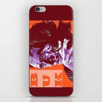 popart iPhone & iPod Skins featuring Charles Bukowski - PopART by ARTito