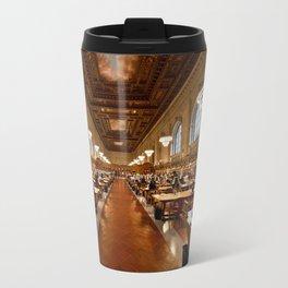 New York Public Library Travel Mug