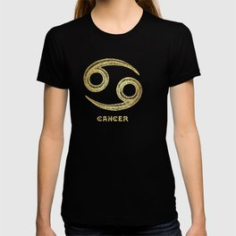 Cancer Zodiac Sign T-shirt