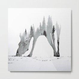 moose draw Metal Print